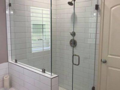 Glass Shower Room Installation