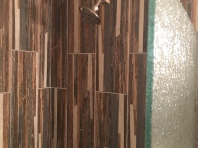 New Shower Tiles Installation