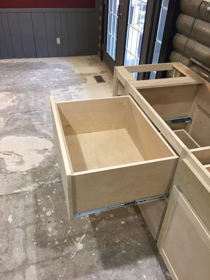 Before Kitchen Cabinet Installation